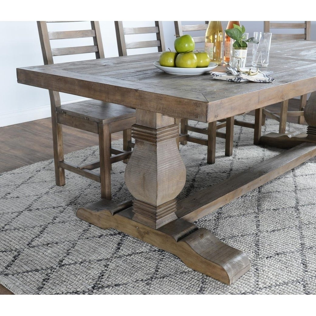 Kasey Reclaimed Wood Dining Tablekosas Home Throughout Most Up To Date Gray Wash Benchwright Dining Tables (View 10 of 25)