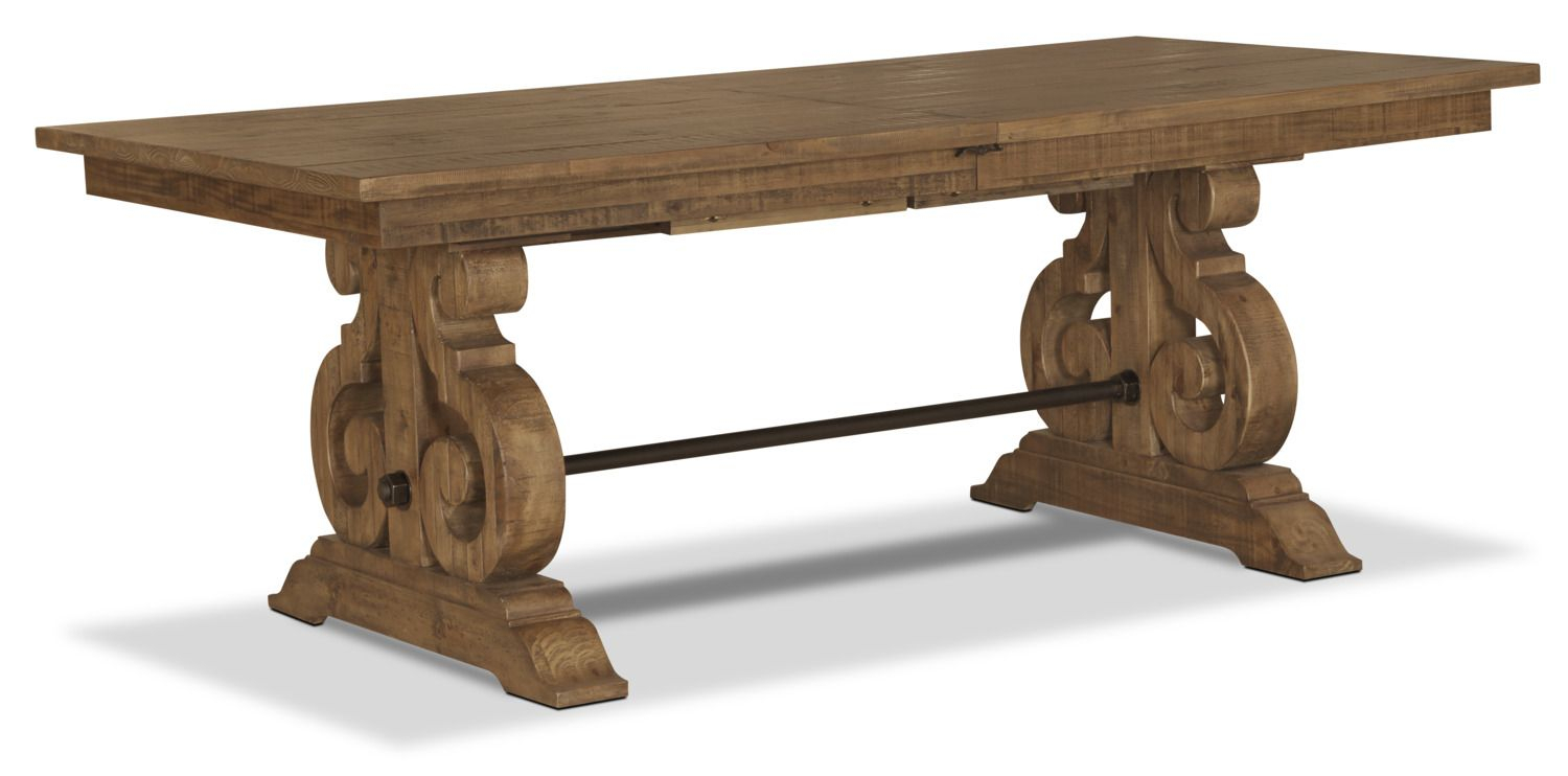 Keswick Dining Table | Dining Table, Table, Formal Dining Tables Intended For 2018 Hewn Oak Lorraine Pedestal Extending Dining Tables (View 12 of 25)