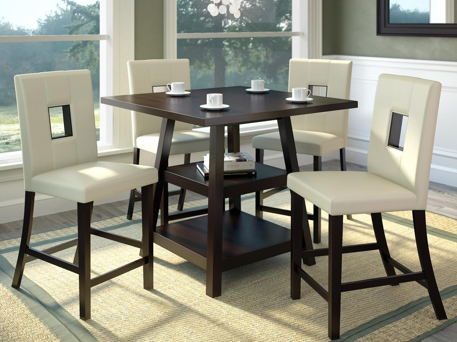 Kitchen And Dining Room Chairs Covers : Kitchen And Dining With 2018 Benchwright Bar Height Dining Tables (View 15 of 25)