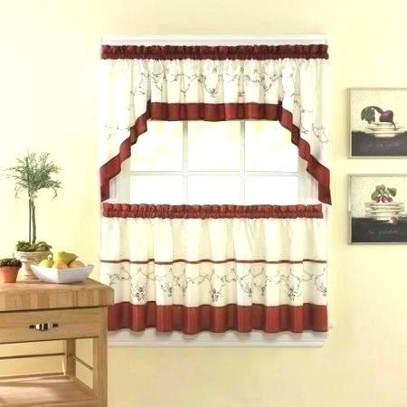 Kitchen Curtain Sets – Kreden (View 21 of 25)