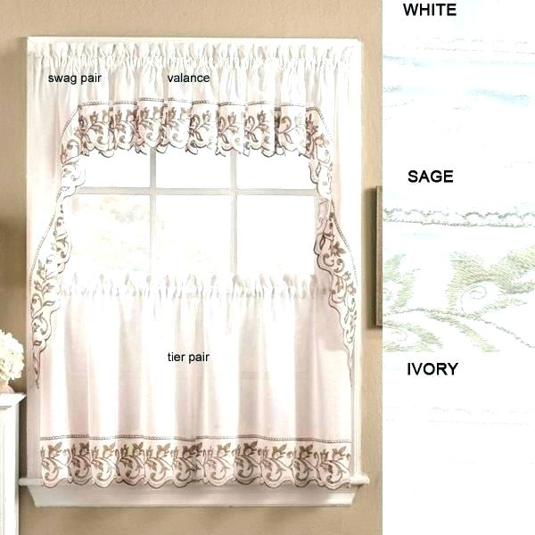 Kitchen Curtains And Valances – Companio (Image 18 of 25)