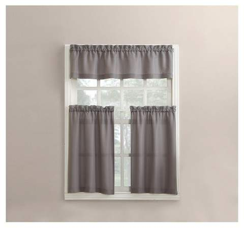 Kitchen Curtains And Valances – Shopstyle Inside Scroll Leaf 3 Piece Curtain Tier And Valance Sets (View 23 of 25)