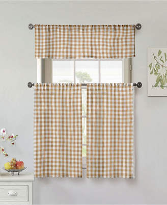 Kitchen Curtains – Shopstyle With Regard To Dakota Window Curtain Tier Pair And Valance Sets (View 20 of 25)