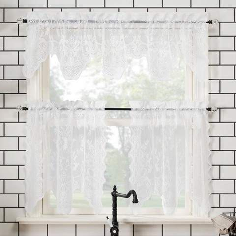 Kitchen Curtains – Shopstyle With Wallace Window Kitchen Curtain Tiers (View 12 of 25)