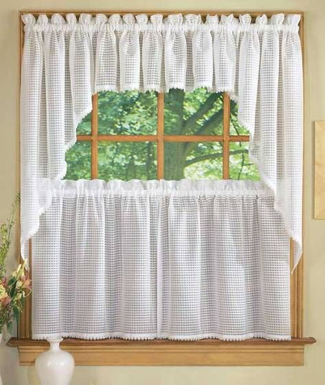 Kitchen Curtains Styles | Curtains, Curtain Styles, Curtain Regarding Embroidered Floral 5 Piece Kitchen Curtain Sets (View 6 of 25)