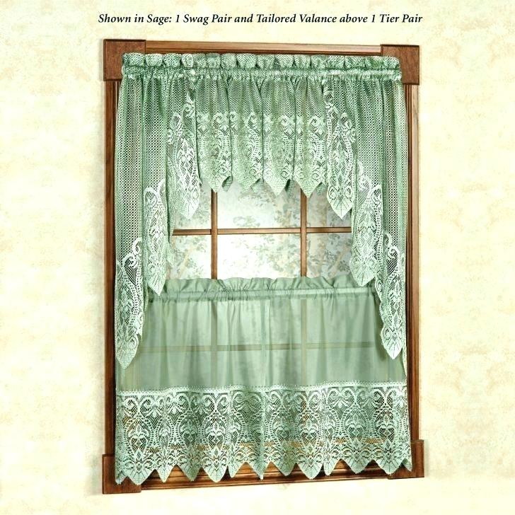 Kitchen Curtains Tiers Valances – Bitcoinecuador In Coffee Embroidered Kitchen Curtain Tier Sets (View 9 of 25)