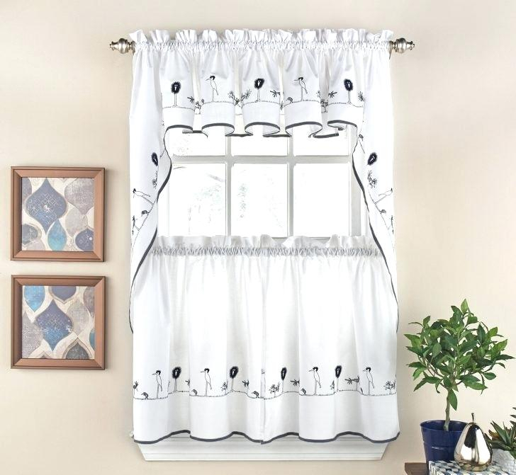 Kitchen Curtains Tiers Valances – Bitcoinecuador In Pleated Curtain Tiers (View 11 of 25)