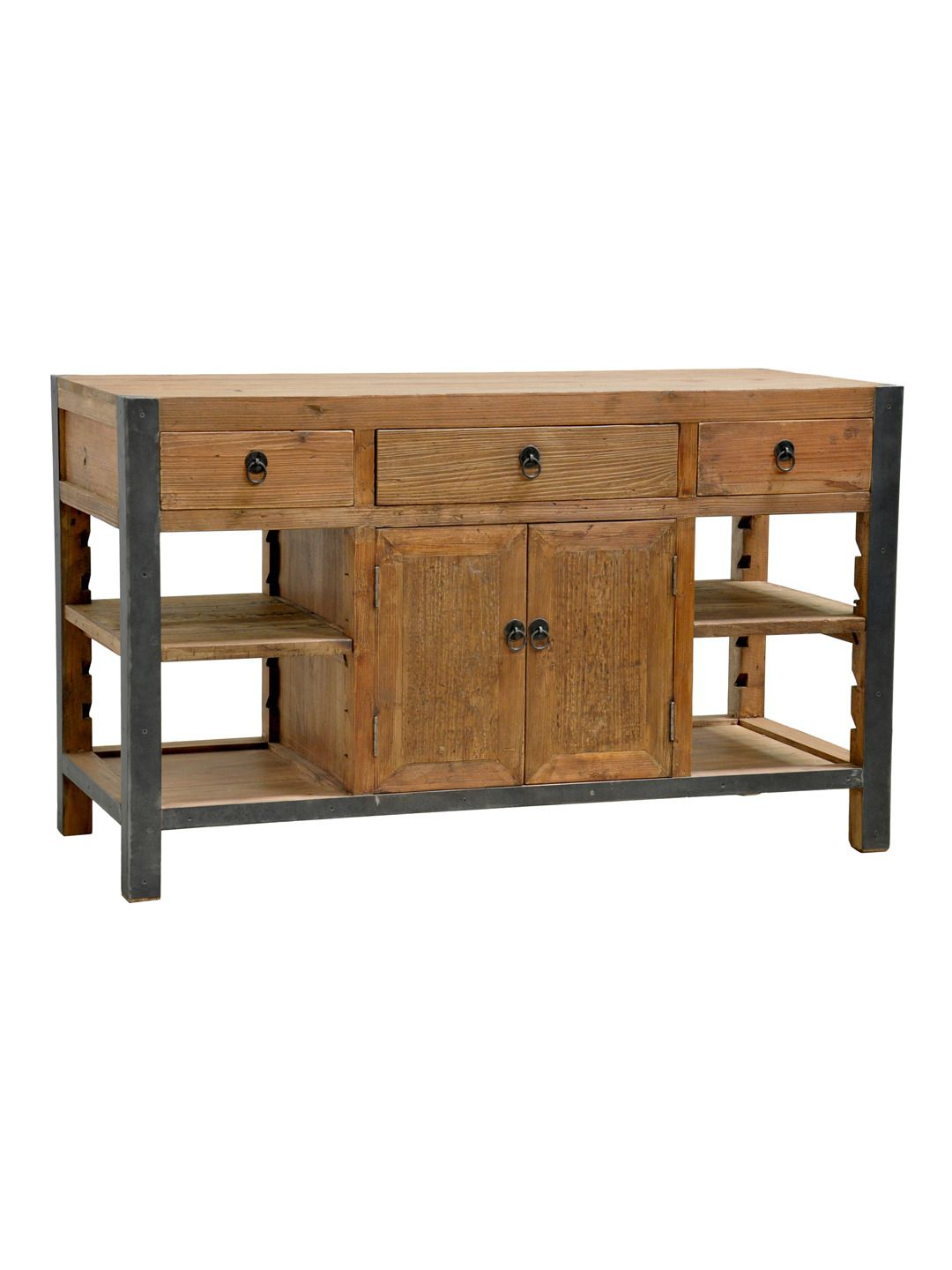 Kitchen Island Add A Small Cabinet On Left And Right Side For Most Popular Elworth Kitchen Island (View 17 of 25)