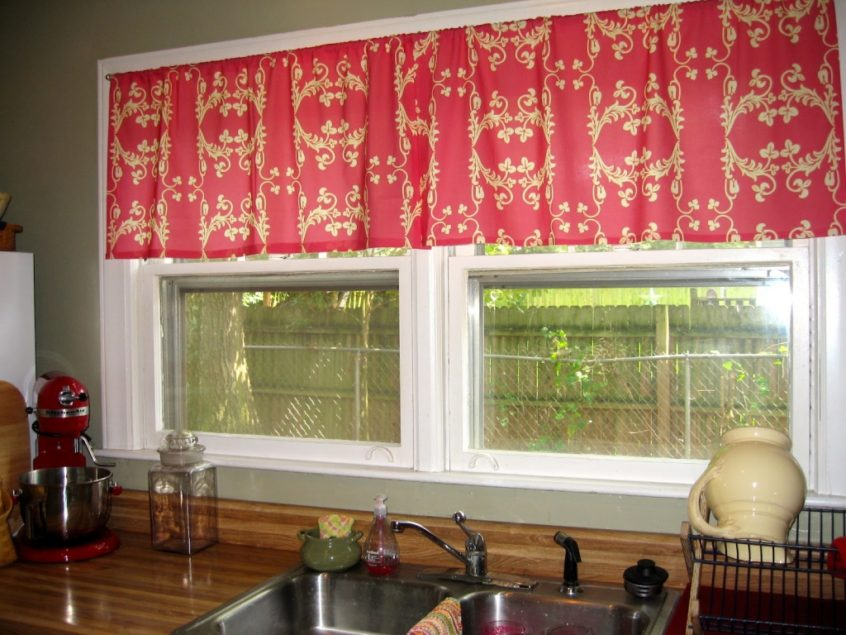 Kitchen: Kitchen Curtains Best Of Ideas Treatment Windows Throughout Red Rustic Kitchen Curtains (Image 17 of 25)