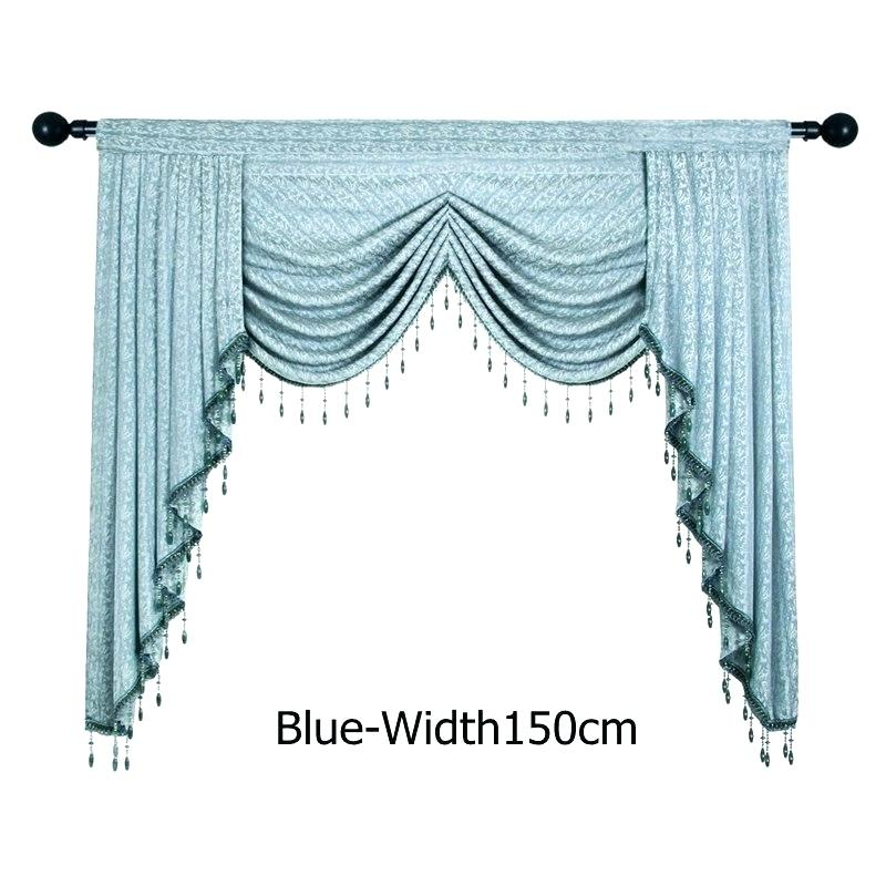 Kitchen Swag Valance – Mzamin Within Luxurious Kitchen Curtains Tiers, Shade Or Valances (View 20 of 25)