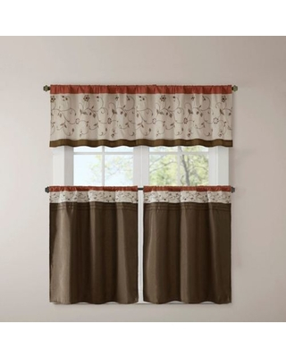 Kitchen Window Curtain Panels – Lampebureauled Inside Elegant Crushed Voile Ruffle Window Curtain Pieces (View 16 of 25)