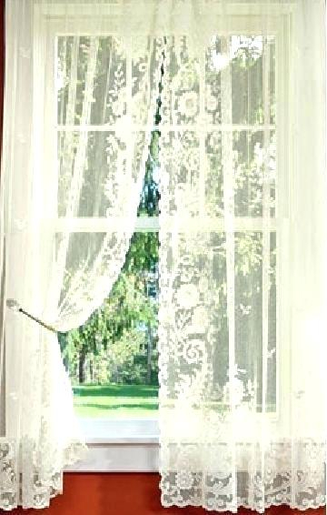Lace Curtains Walmart – Formula1Motor With Regard To Floral Lace Rod Pocket Kitchen Curtain Valance And Tiers Sets (View 19 of 25)