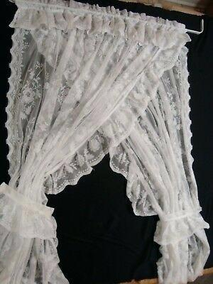 Lace Priscilla Curtains – Openhub Inside Elegant White Priscilla Lace Kitchen Curtain Pieces (View 10 of 25)