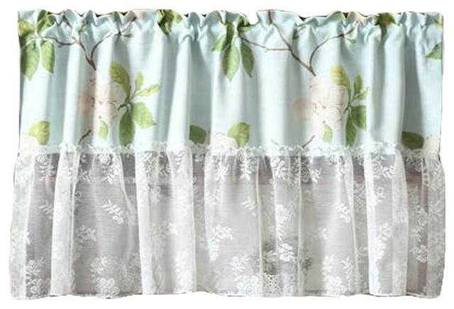 Lace Short Kitchen Curtain Small Window Half Curtain Cafe Curtain Tier Curtain Intended For Cotton Blend Grey Kitchen Curtain Tiers (View 12 of 25)