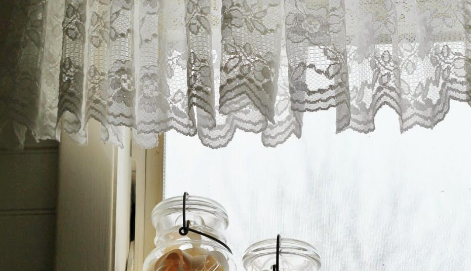 Lace Tiers White Spotlight Yardage Panels Insult Farmhouse Within Cotton Lace 5 Piece Window Tier And Swag Sets (View 15 of 25)