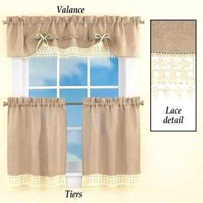 Lace Valance Curtains – Brickandwillow (View 12 of 25)