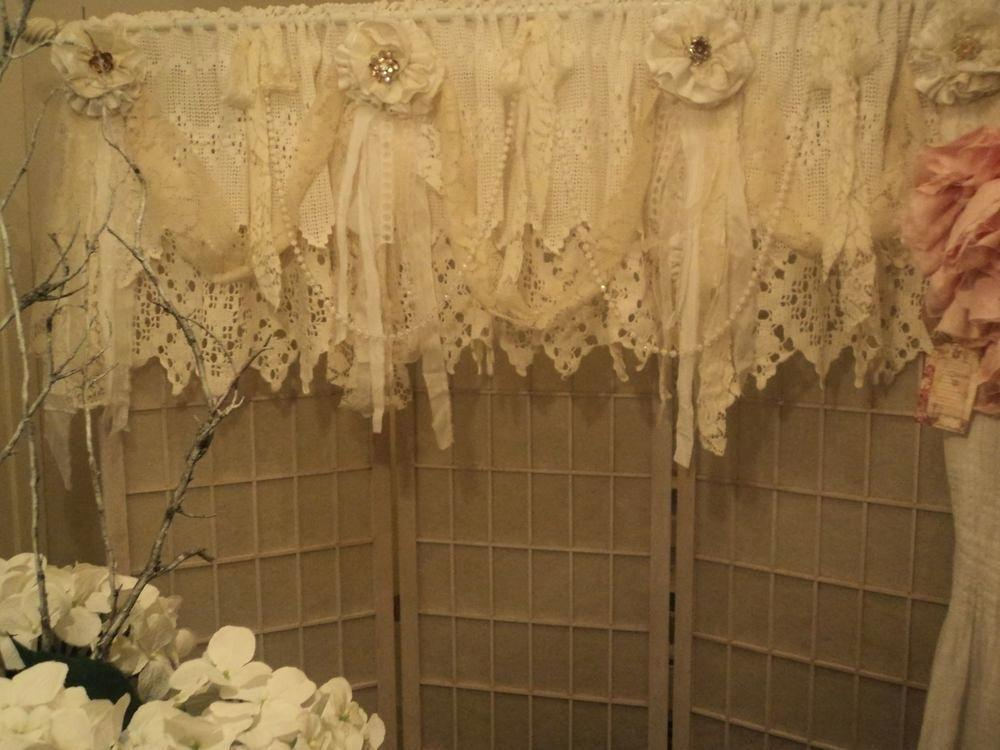 Lace Valance Curtains – Brickandwillow (Image 14 of 25)