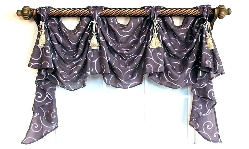Lace Valances And Swags – Masfashion (View 11 of 25)