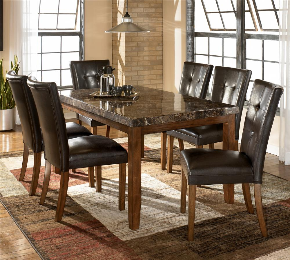 Lacey 7 Piece Dining Table & Chair Set Within Most Recent Avondale Counter Height Dining Tables (View 16 of 25)