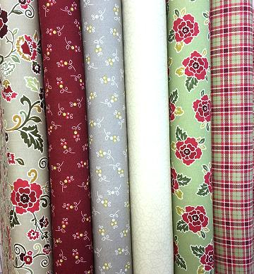 Lapp Elisa Quilts Hb Pertaining To Complete Cottage Curtain Sets With An Antique And Aubergine Grapvine Print (View 20 of 25)