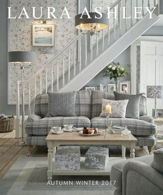 Laura Ashley – Autumn Winter 2017Laura Ashley – Issuu In Floral Blossom Ink Painting Thermal Room Darkening Kitchen Tier Pairs (View 12 of 25)