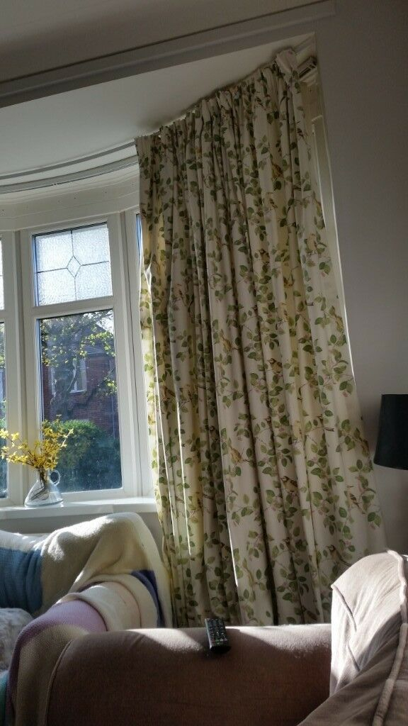 Laura Ashley Aviary Garden Curtains 90 Inches Wide X 88 Inches Drop | In Newcastle, Tyne And Wear | Gumtree With Aviary Window Curtains (View 16 of 25)
