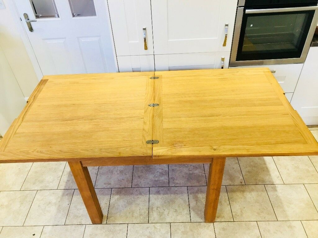 Laura Ashley Brompton Solid Oak Extending Dining Table | In Normandy, Surrey | Gumtree Intended For Recent Normandy Extending Dining Tables (View 9 of 25)