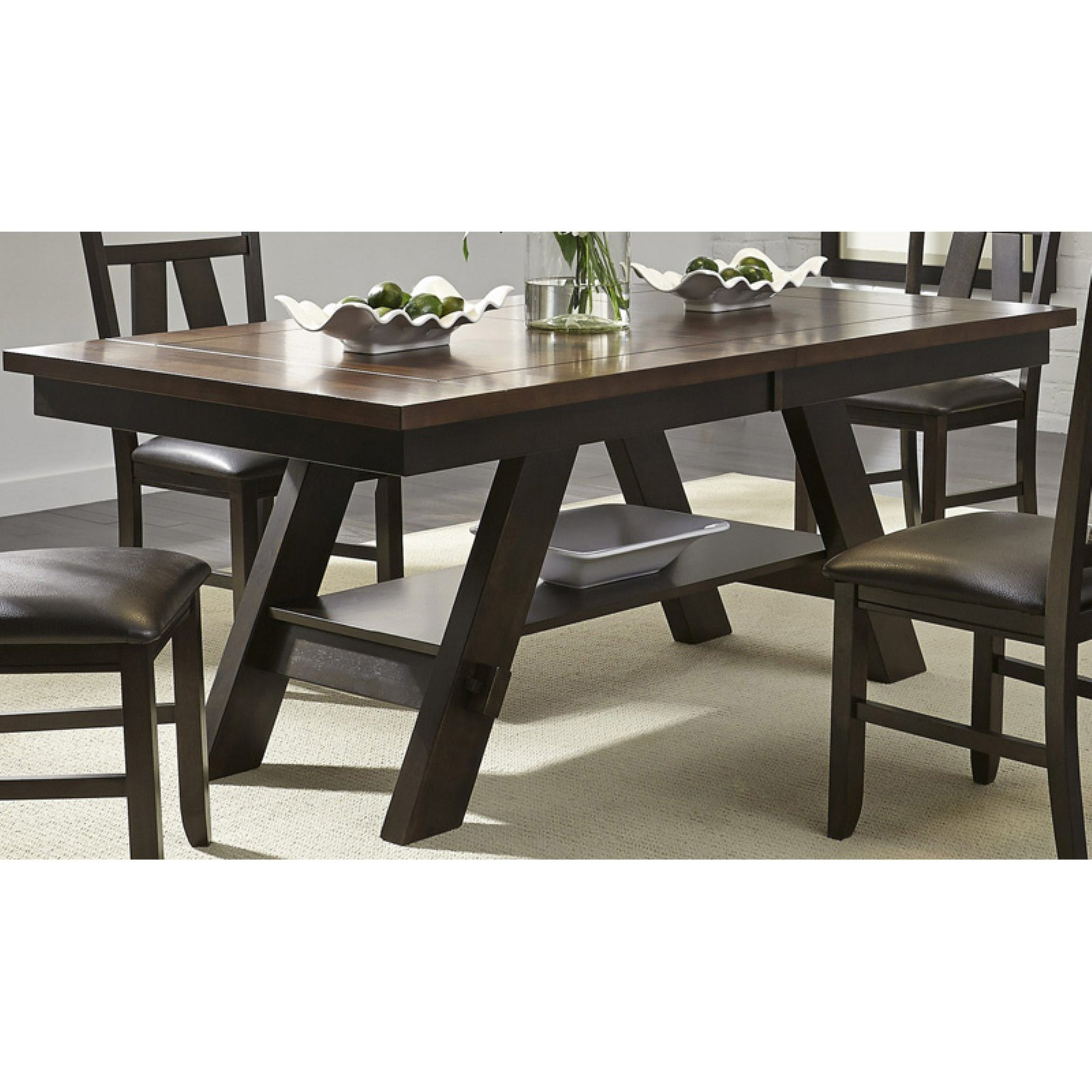 Liberty Furniture Industries Lawson Extension Dining Table Regarding Newest James Adjustables Height Extending Dining Tables (Image 14 of 25)