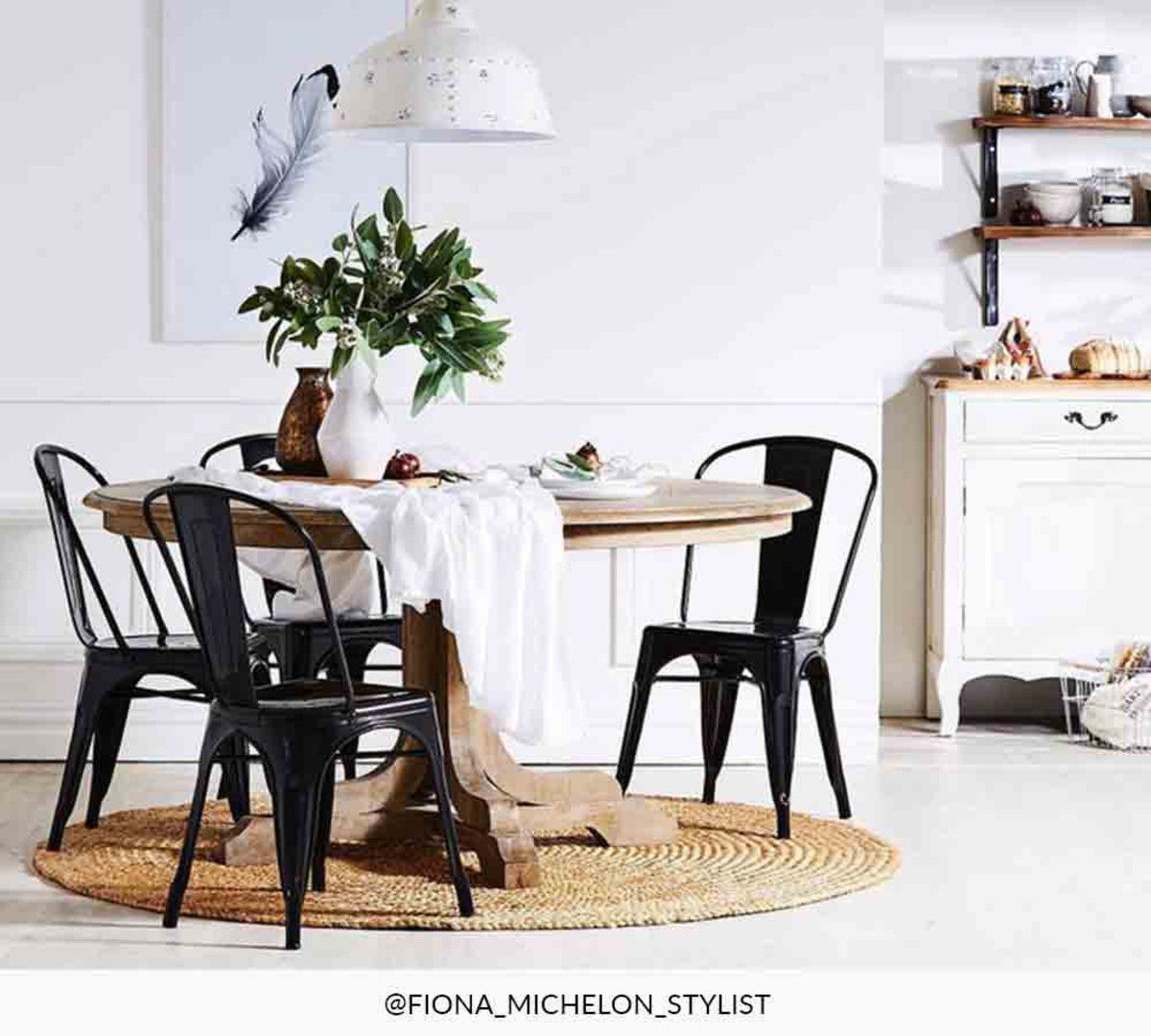 Linden Fixed Round Table In 2019 | Dream Dining Room | Round For Recent Linden Round Pedestal Dining Tables (View 3 of 25)