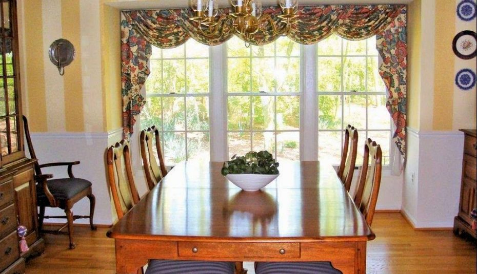 Living Rooms Window Treatment Ideas For Large Room Windows Intended For Luxury Light Filtering Straight Curtain Valances (Image 11 of 25)