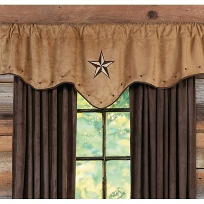 Log Cabin Curtains For Rustic Country Homes | Everything Log Pertaining To Dakota Window Curtain Tier Pair And Valance Sets (View 22 of 25)