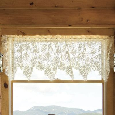 """Loon Peak Champlain 60"""" Curtain Valance   Products In 2019 Throughout Forest Valance And Tier Pair Curtains (View 14 of 25)"""