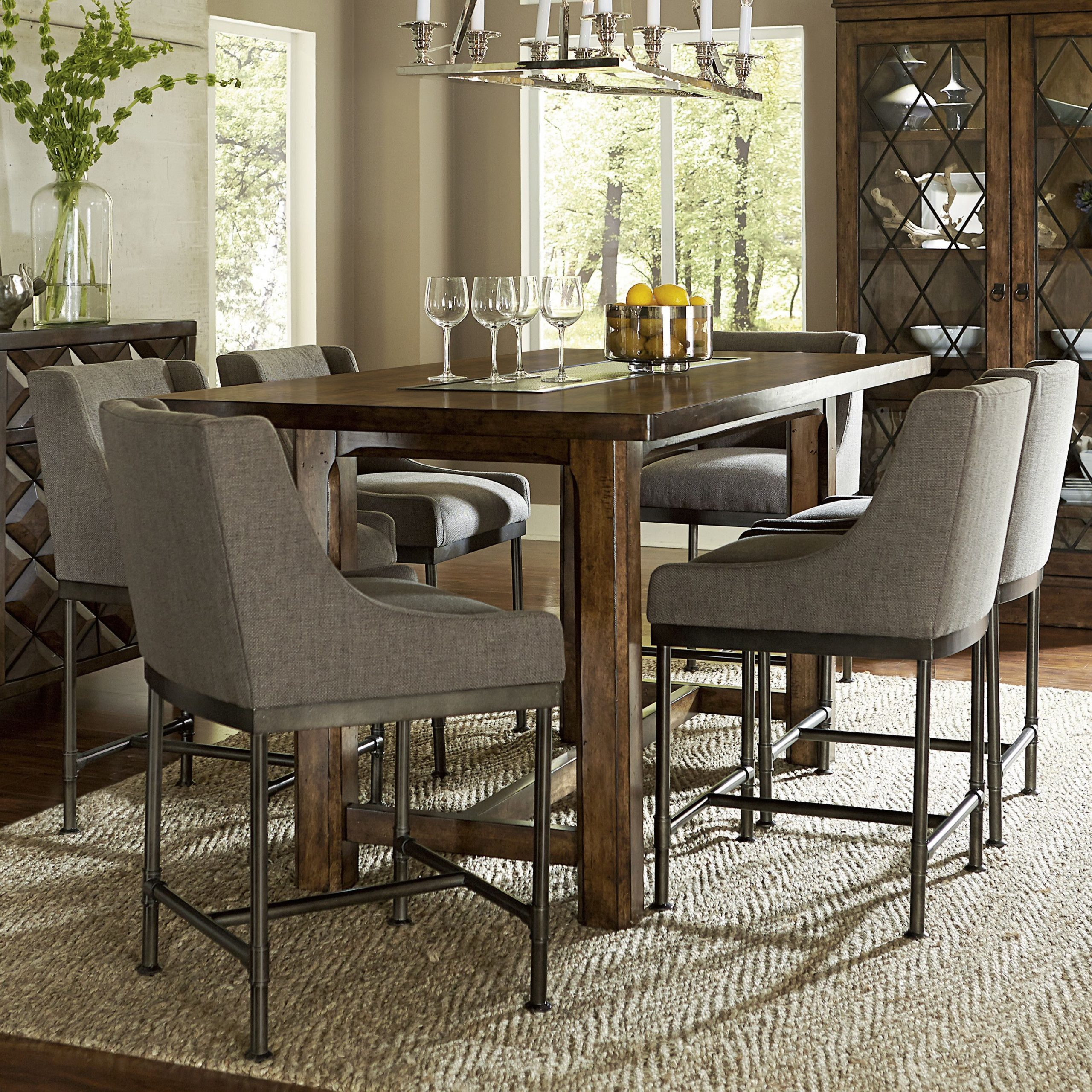 Loon Peak Segula Counter Height Dining Table | Dining Area With Regard To Most Recent Avondale Counter Height Dining Tables (View 3 of 25)