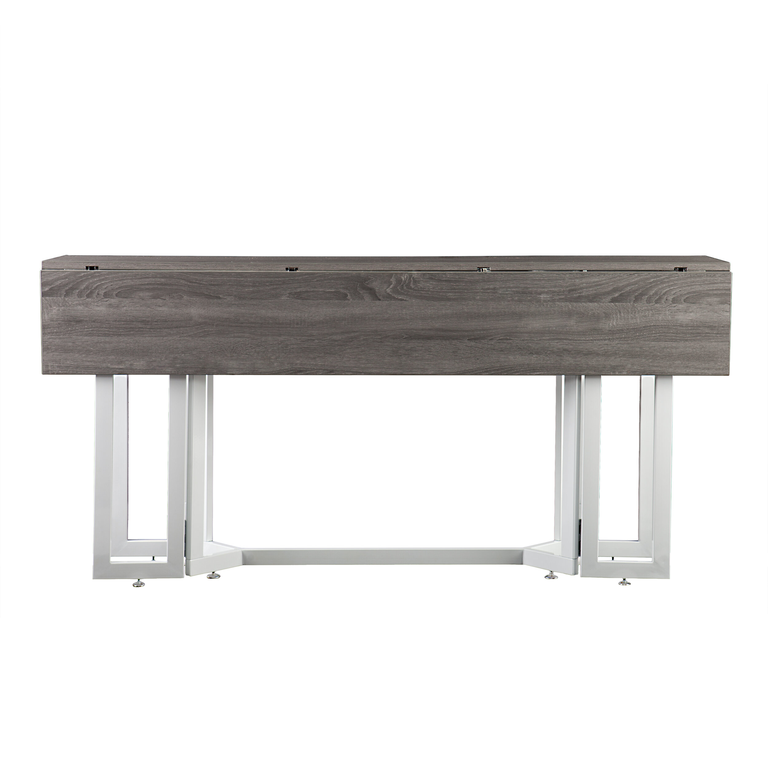 Loraine Extendable Dining Table Base Finish Black Inside Most Recently Released Hewn Oak Lorraine Pedestal Extending Dining Tables (View 19 of 25)