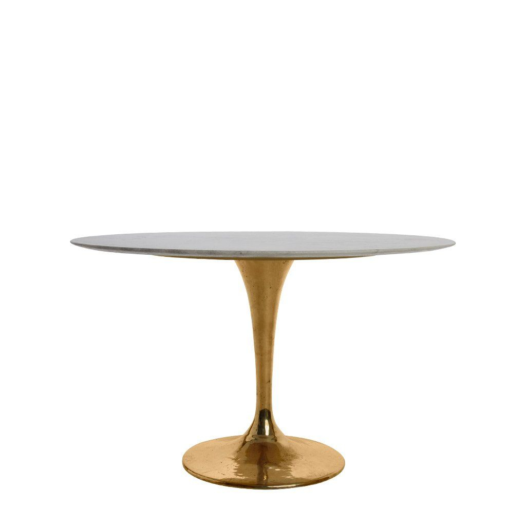 Lucia B Round Dining Table | Dining Tables | Pinterest With Regard To Best And Newest Alexandra Round Marble Pedestal Dining Tables (View 11 of 25)
