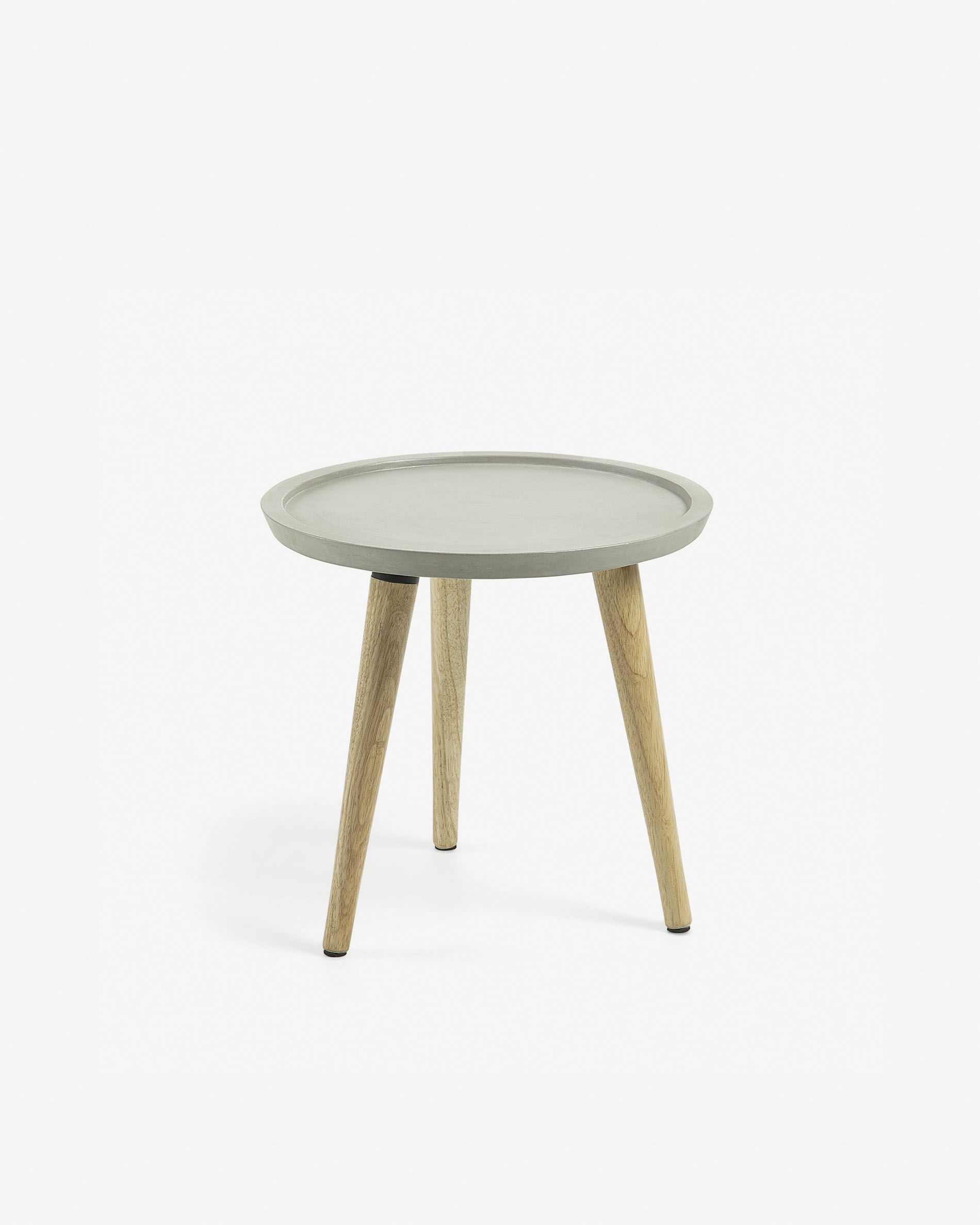 Lucy Side Table Ø 50 Cm | Kave Home Throughout Current Lucy Bar Height Dining Tables (Image 16 of 25)