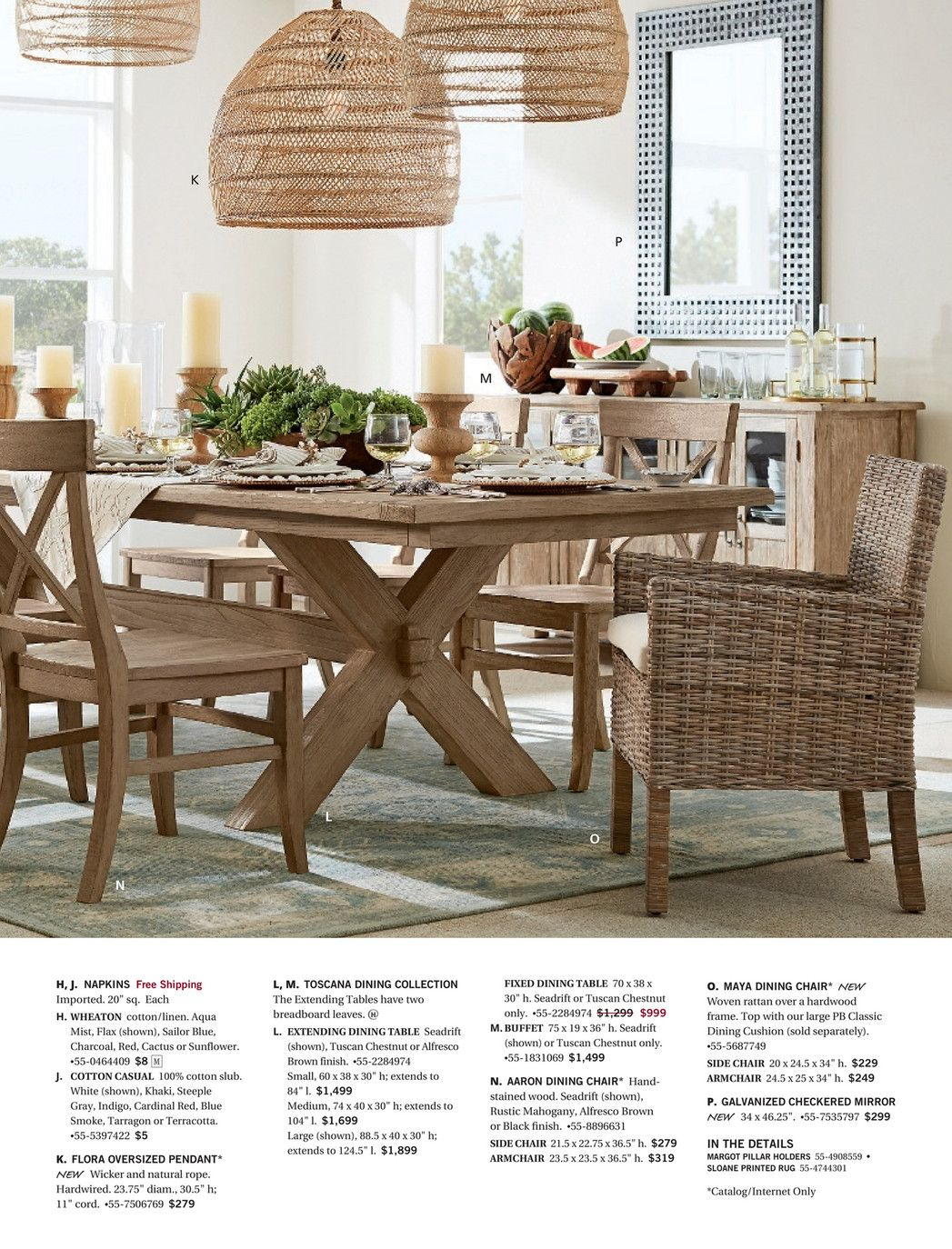 M Ay 2017 Add Some Color Pg 4 Light Up The Night Pg 12 With Regard To Most Current Tuscan Chestnut Toscana Extending Dining Tables (View 18 of 25)