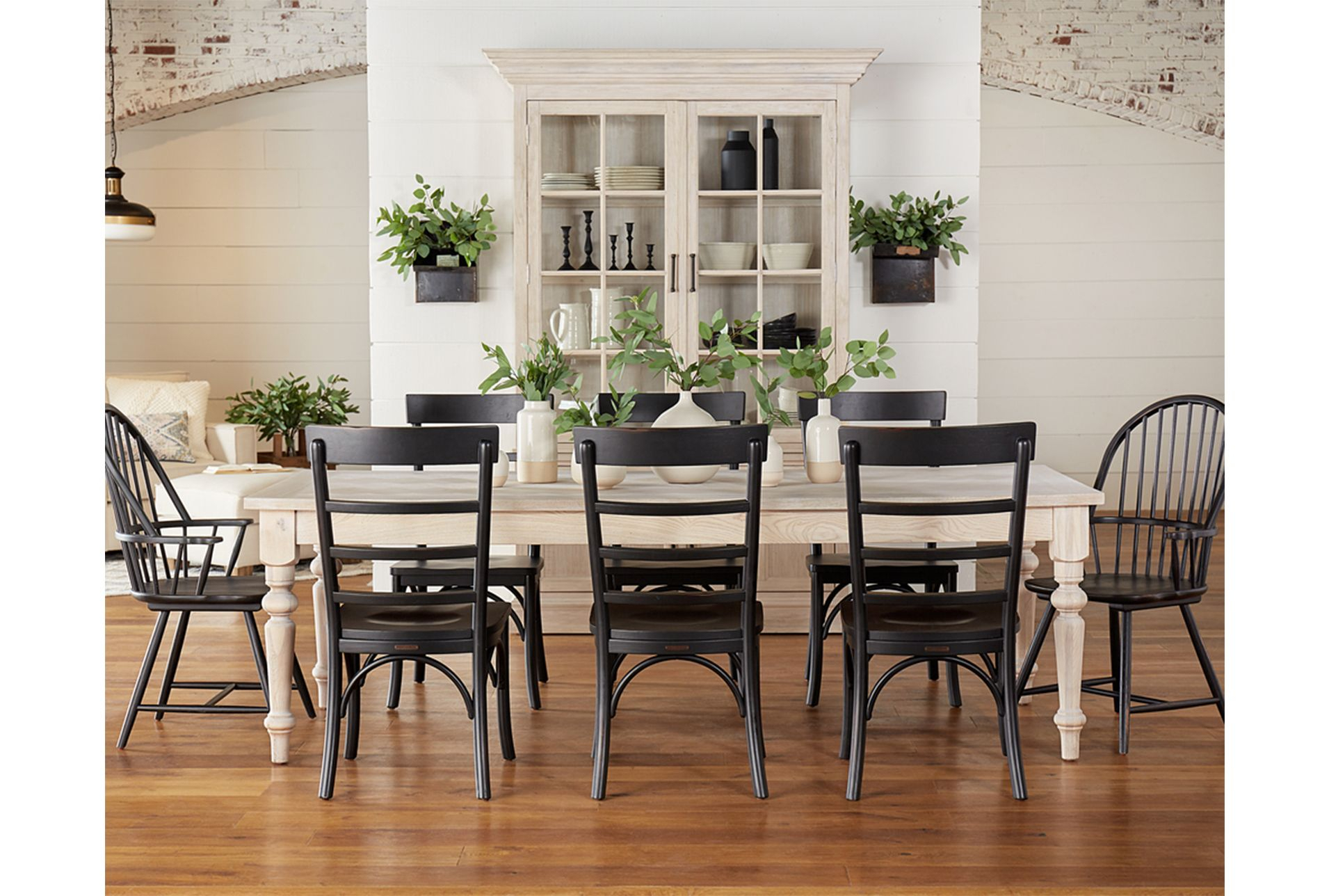 Magnolia Home Prairie Dining Tablejoanna Gaines – White In Recent Gray Wash Banks Extending Dining Tables (View 4 of 25)