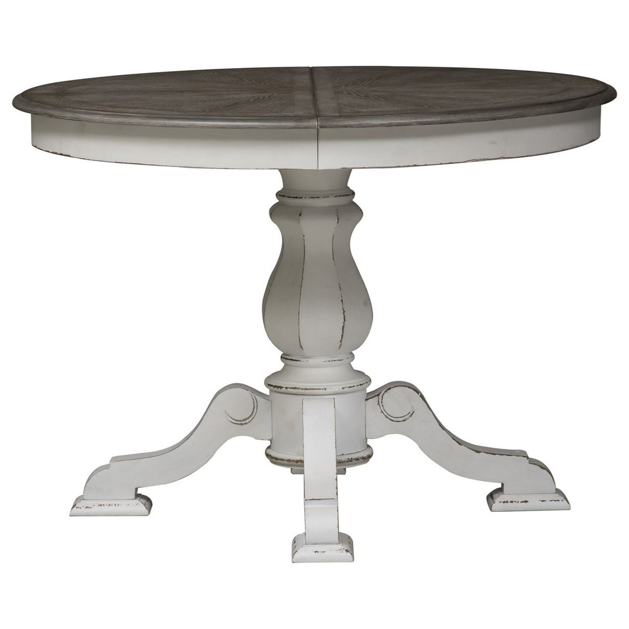 Magnolia Manor Dining Pedestal Table For Best And Newest Dawson Pedestal Tables (View 25 of 25)