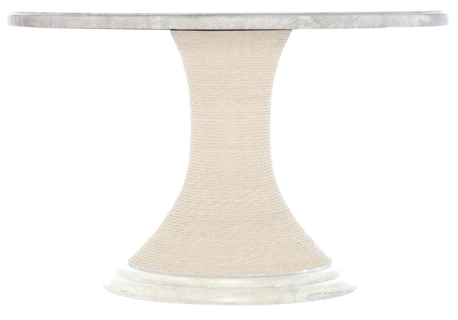 Marble Pedestal Dining Table – Meime (View 4 of 25)