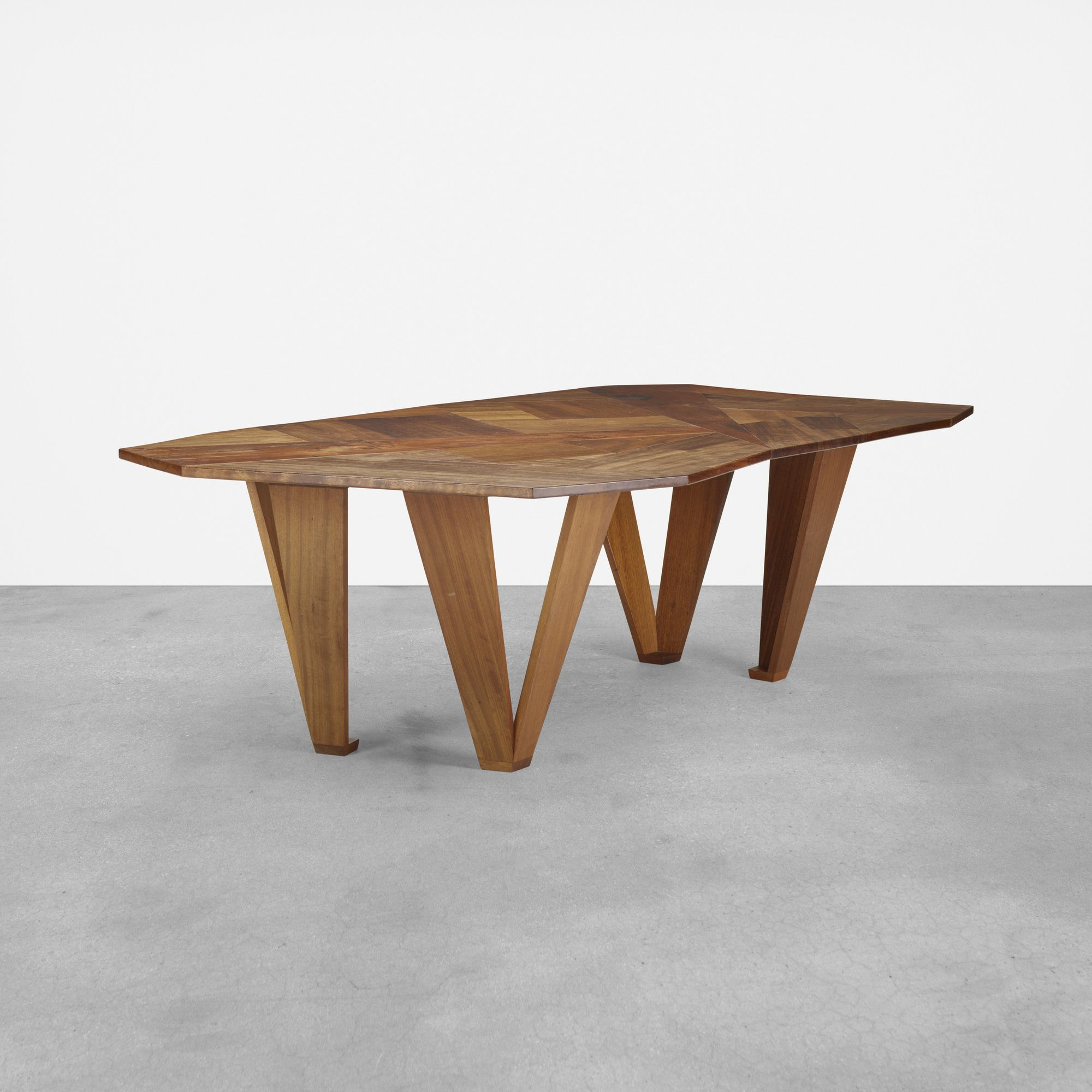 Martino Gamper. Off Cuts Dining Table. 2007, Teak (View 24 of 25)