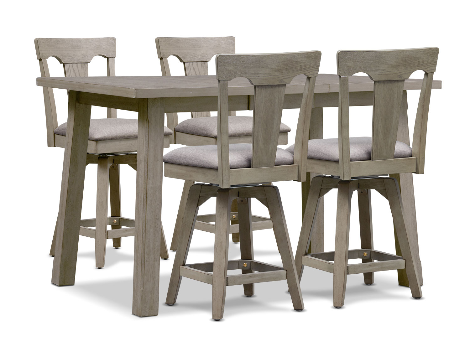 Maxton Counter Height Dining Table And 4 Stools In 2017 Carson Counter Height Tables (View 20 of 25)