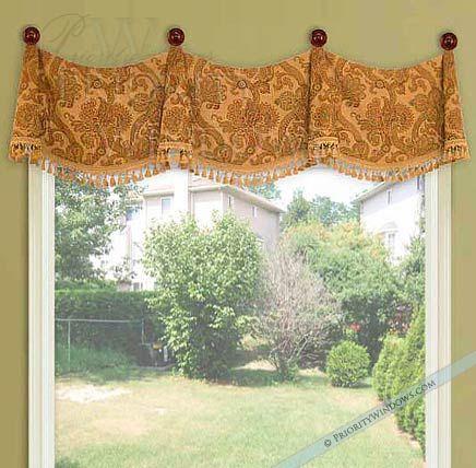 Featured Image of Medallion Window Curtain Valances