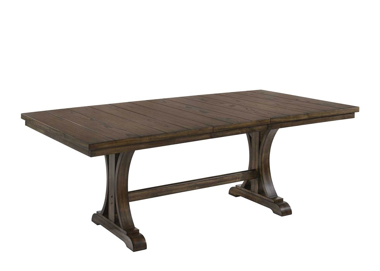 Meretta Rectangular Dining Table In Most Popular Rae Round Pedestal Dining Tables (Image 14 of 25)
