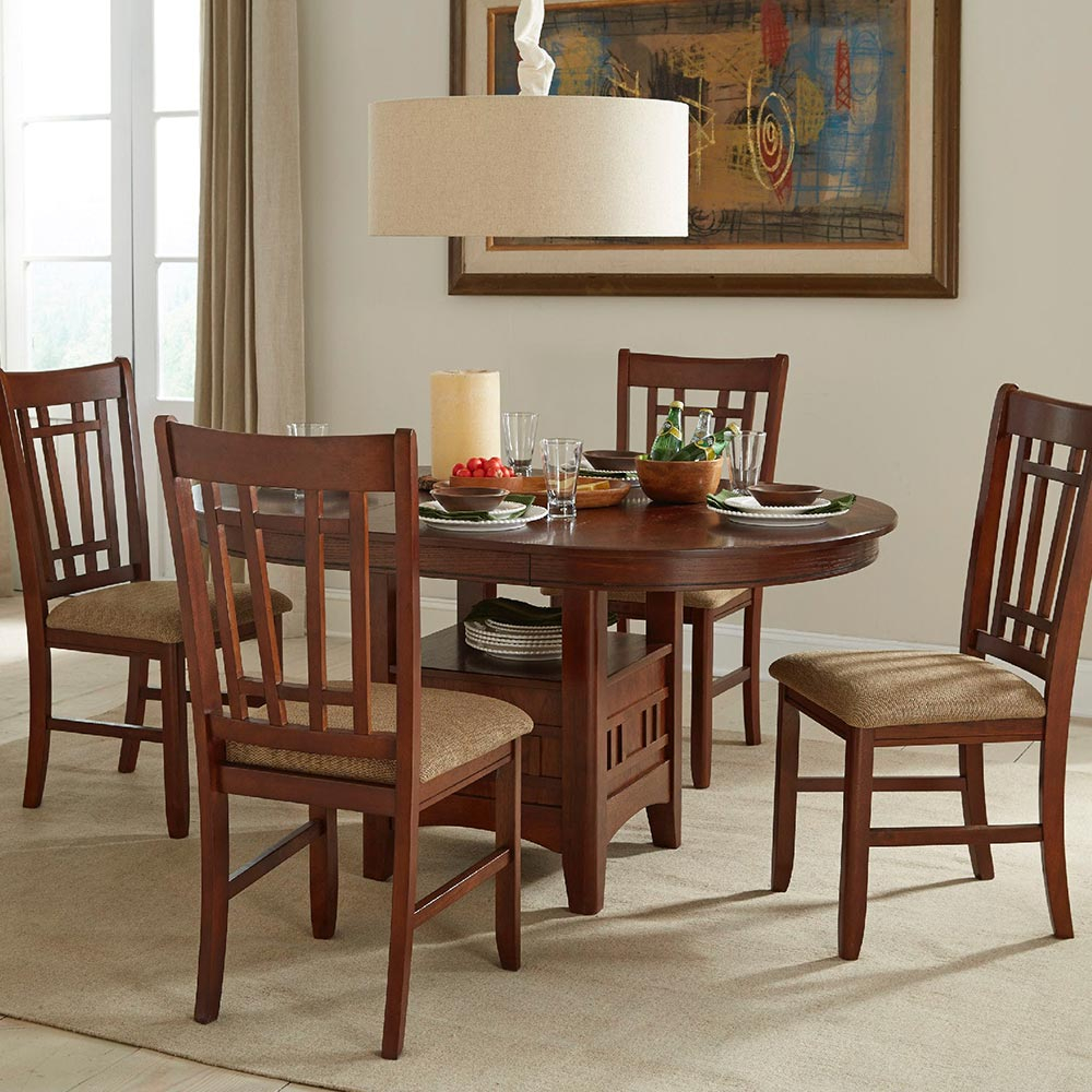 Mission Casuals Dining Table – Intercon Furniture In Newest Mateo Extending Dining Tables (View 25 of 25)