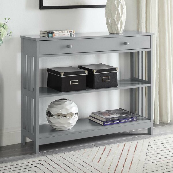 Mission Style Sofa Table | Wayfair Within Porch & Den Lorentz Silver 24 Inch Tier Pairs (View 19 of 25)