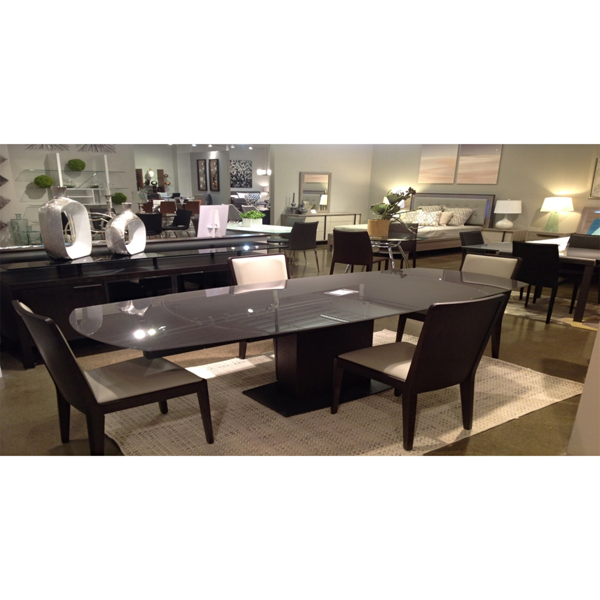 Modena Extendable Dining Table Pertaining To Most Current Mateo Extending Dining Tables (View 8 of 25)