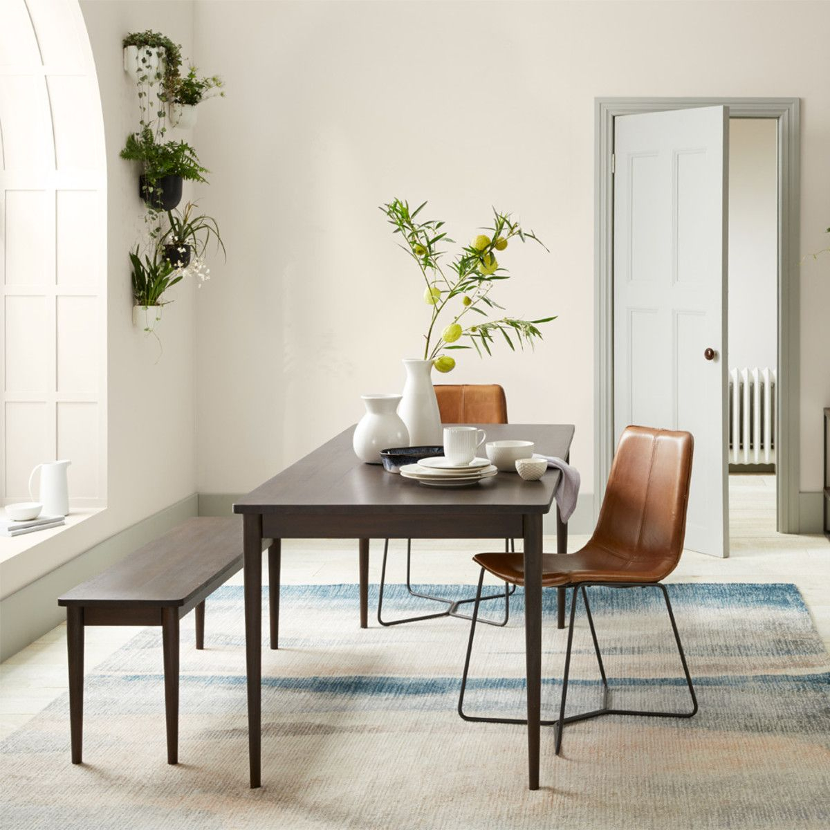 Modern Farmhouse Expandable Dining Table – Dark Mineral In Within Most Recently Released Modern Farmhouse Extending Dining Tables (View 20 of 25)