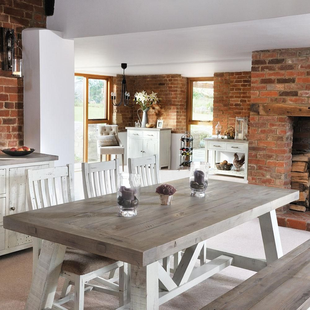 Featured Image of Modern Farmhouse Extending Dining Tables