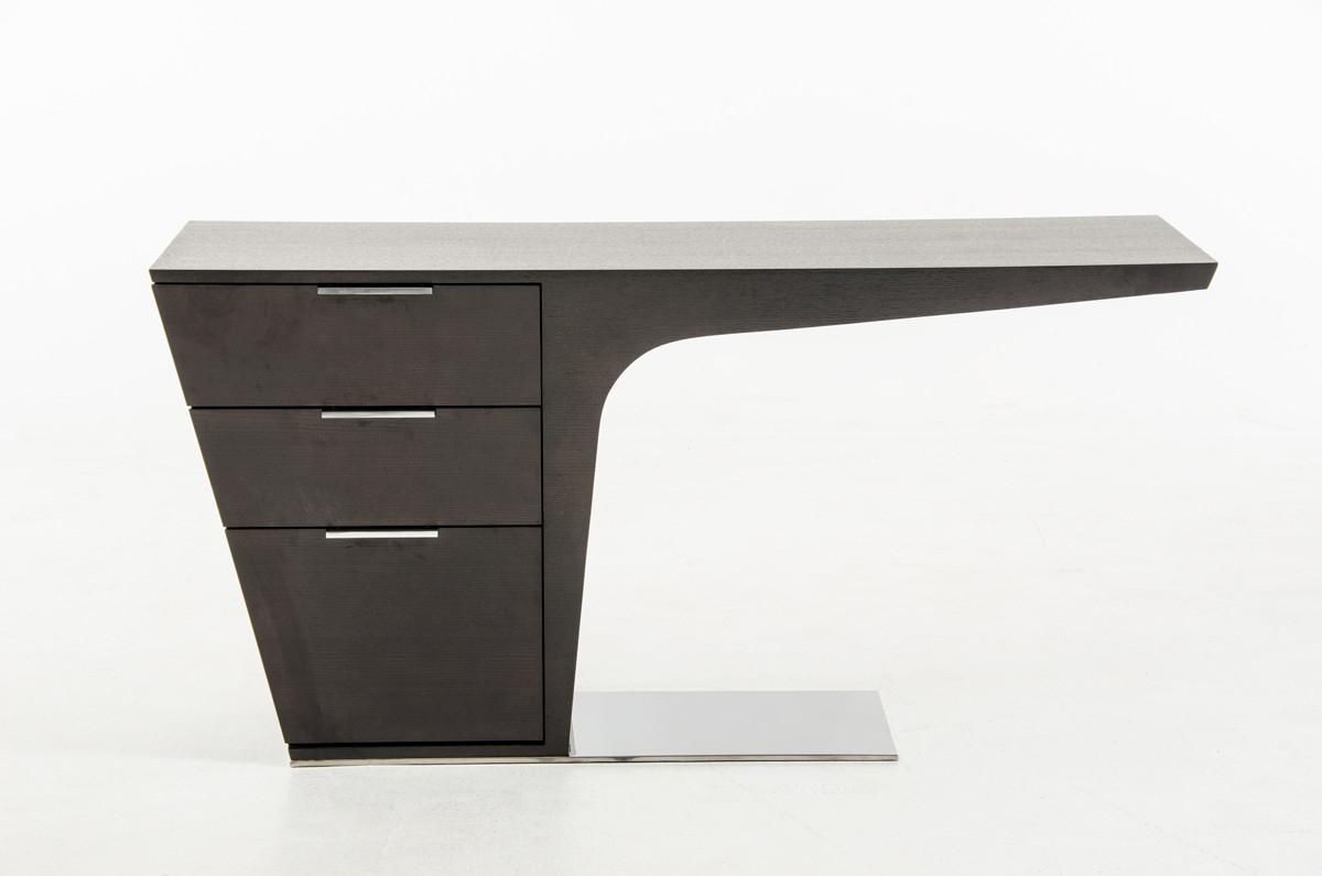 Modrest Bismarck Modern Wenge Office Desk Throughout Most Up To Date Bismark Dining Tables (View 24 of 25)